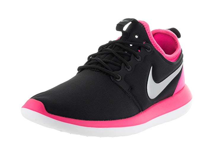 NIKE Girls Roshe Two Big Kid Athletic Running Shoes