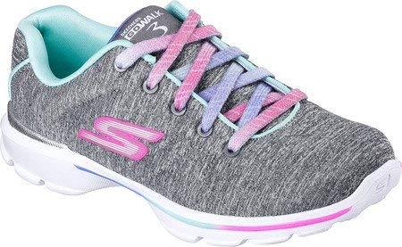 Skechers Girls' Gowalk 3 Jersey Jumpers Walking Sneaker