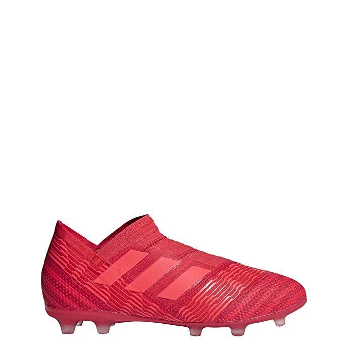 adidas Kids' Nemeziz 17+ 360AGILITY FG Junior Soccer Cleats (Red) (4.5)