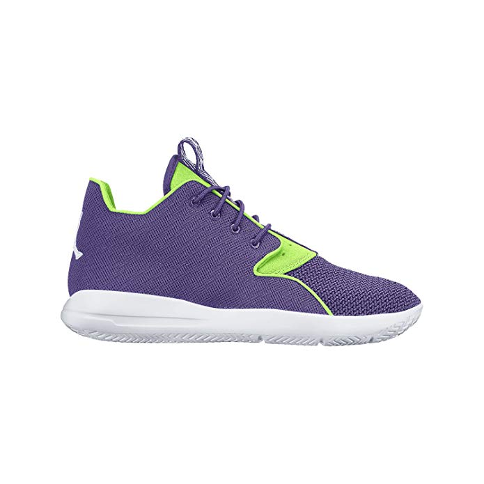 Nike Girl's Jordan Eclipse Running Shoe Ultraviolet/Black/White/Ghost Green 6Y