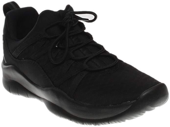 Jordan Girl's Deca Fly Basketball Shoe Black-Black-Black 6.5Y