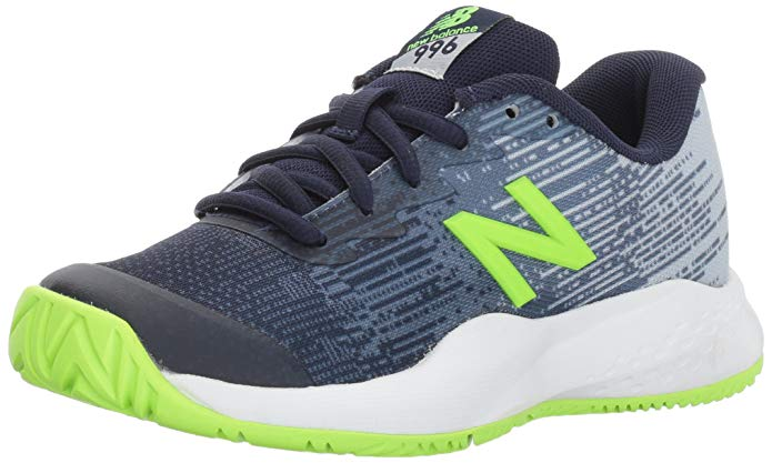 New Balance Kids' Hard Court Kc996v3 Tennis-Shoes