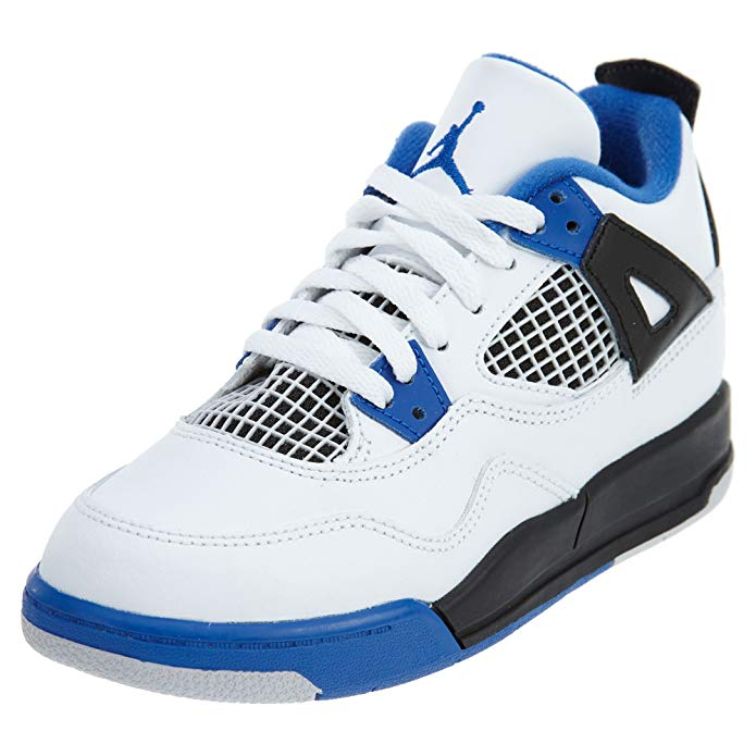 Jordan Little Kids 4 Retro Bp Basketball Shoe