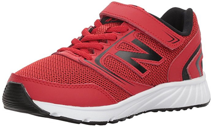 New Balance Kids' 455v1 Hook and Loop Running Shoe