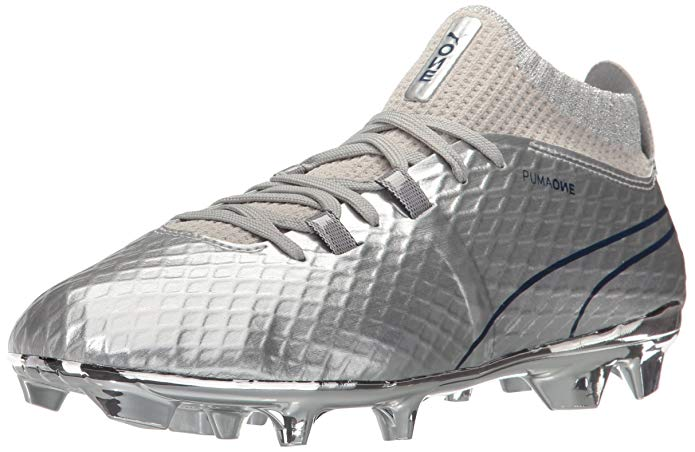 PUMA Kids ONE Chrome FG Jr Soccer Shoe,