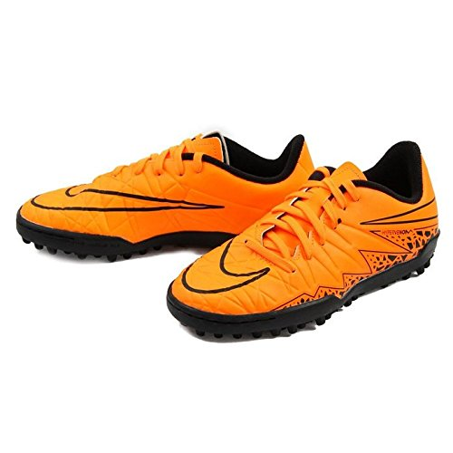 NIKE Youth Hypervenom Phelon II Turf (Total Orange/Black/Total Orange)