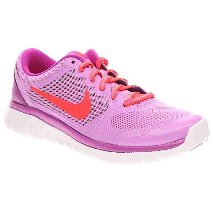 NIKE Girl's Flex Run 2015 Athletic Shoe