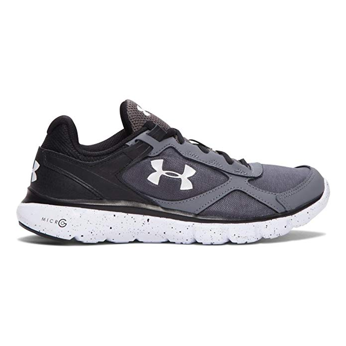 Under Armour Kids Mens UA BGS Micro G¿ Velocty RN GR (Big Kid)