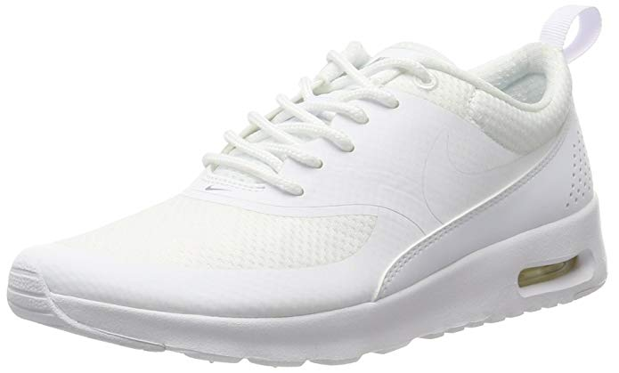 Nike Air Max Thea (GS) Girl's Grade School Running Shoes 814444-100 (4.5Y)