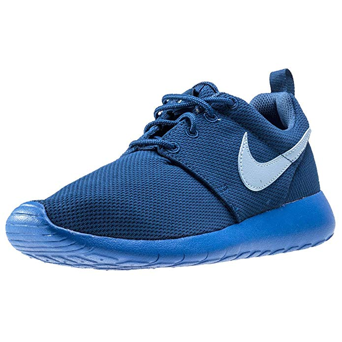 Nike Big Kids Roshe One GS Running Shoes, Coastal Blue/Blue Grey/Hyper Cobalt, 6.5 M US Big Kid