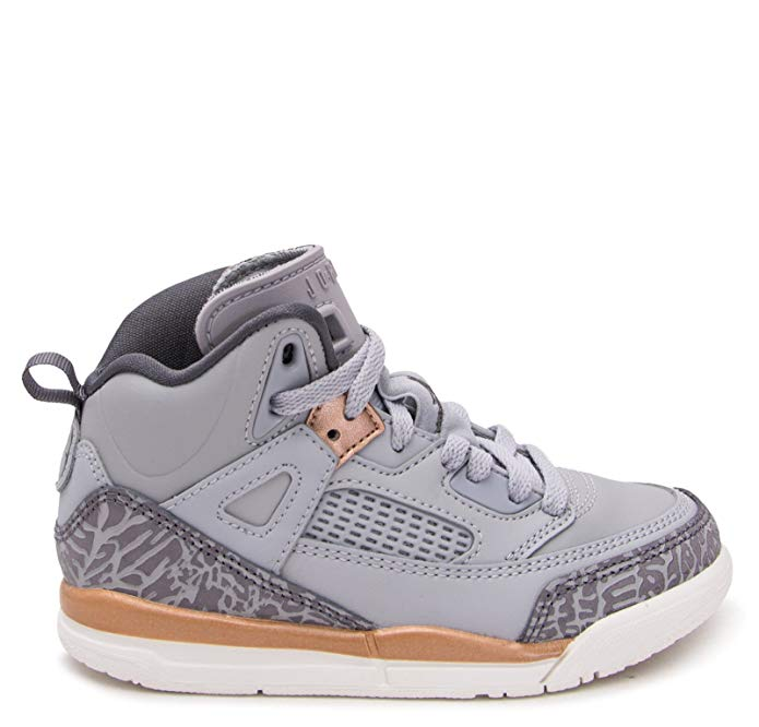 Jordan Spizike Wolf Grey/Dark Grey (Little Kid)