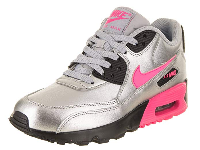 Nike Kid's Air Max 9 Leather Big Kids (GS) Shoe