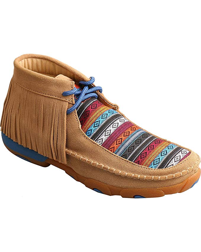 Twisted X Girls' Driving Moccasins Round Toe - Ydm0031