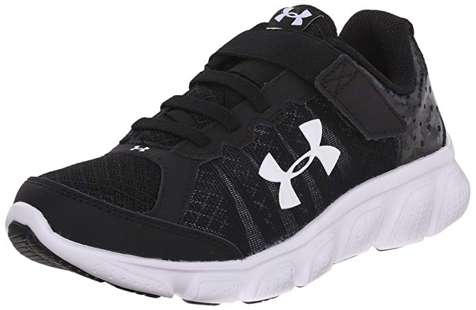 Under Armour Kids' Pre School Assert 6 Adjustable Closure Athletic Shoe,