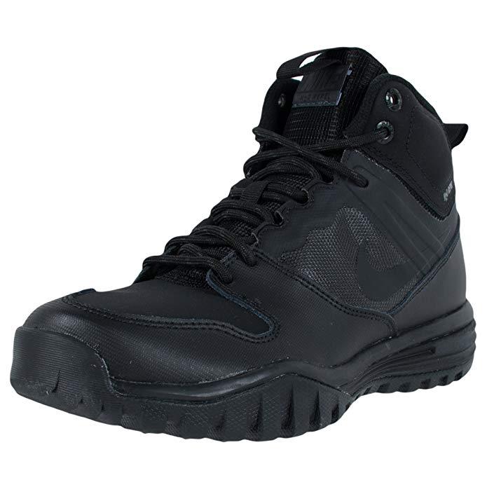 NIKE Dual Fusion Hills Mid Gradeschool Boy's Boots