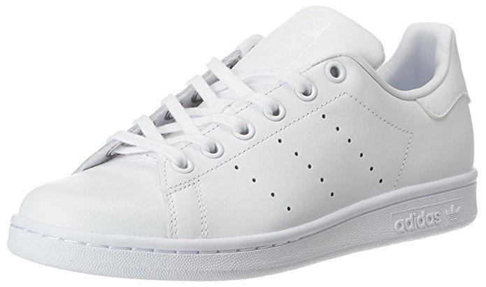 Adidas Youths Stan Smith Leather Trainers