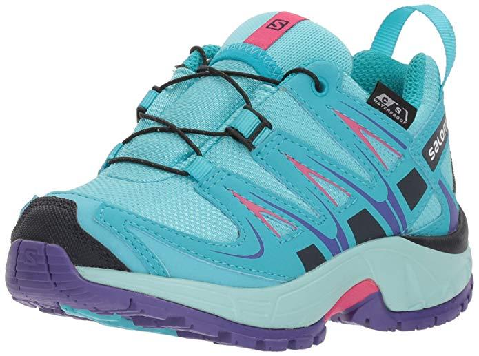 Salomon Kids' XA PRO 3D CSWP K Trail Running Shoe,