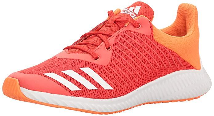 adidas Girls' Fortarun,hi-res red/white/hi-res orange,4.5 M US Big Kid