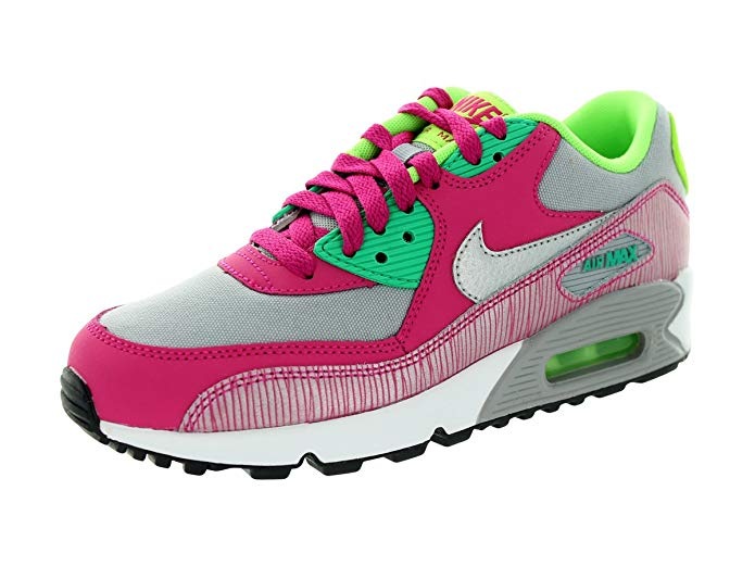 Nike Air Max 90 2007 (GS) Girls Running Shoes
