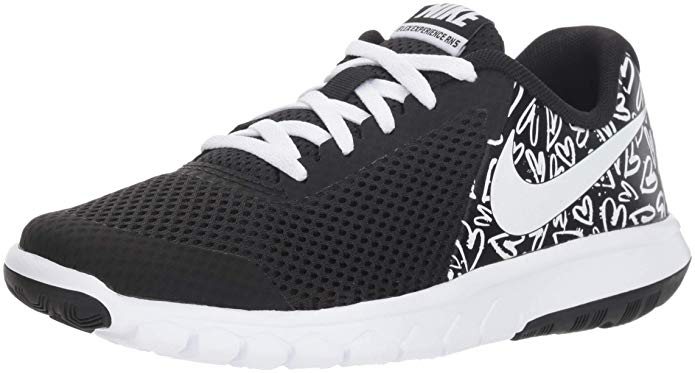 NIKE Girl's Flex Experience 5 Print Athletic Shoe